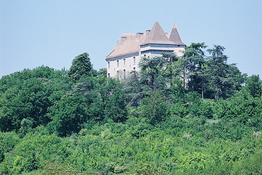 The Castle of Goudourville - A thousand year of history